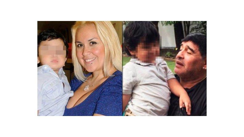 Verónica Ojeda reveló los problemas de habla de Dieguito Fernando