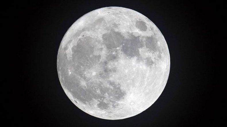 Podrá verse la primera luna llena de febrero (Getty Images)