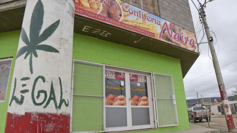 La panadería del Abel Amaya fue asaltada dos veces en menos de seis meses.