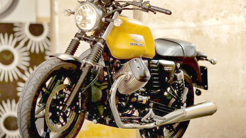 La Moto Guzzi ya fue presentada en Argentina