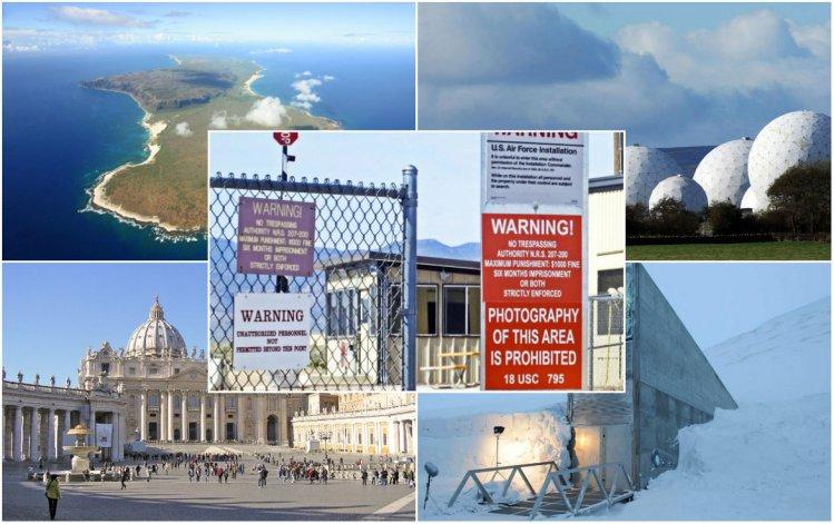 Top 5: Lugares  inalcanzables rodeados  de misterio