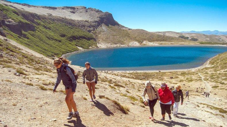 En Batea Mahuida se pueden realizar maravillosas excursiones durante todo el año.