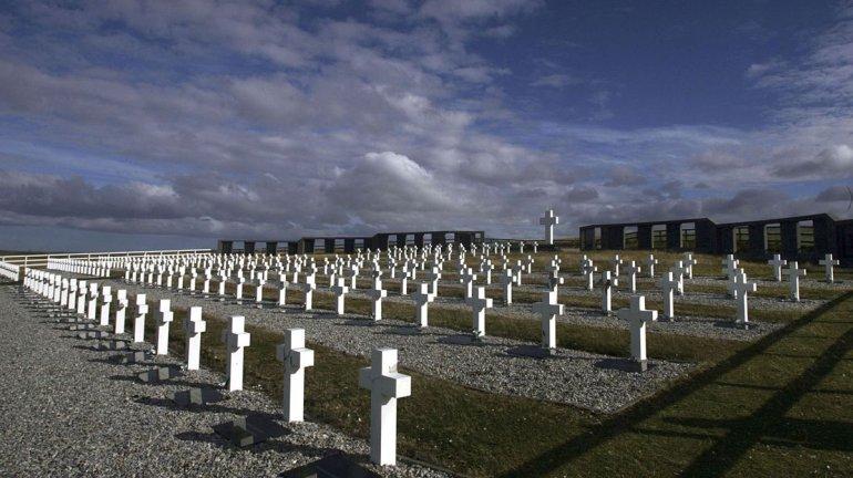Avanza la identificación de los caídos en Malvinas