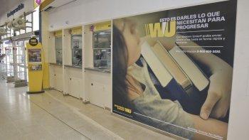 El nuevo local de Western Union permitirá realizar diversos trámites.