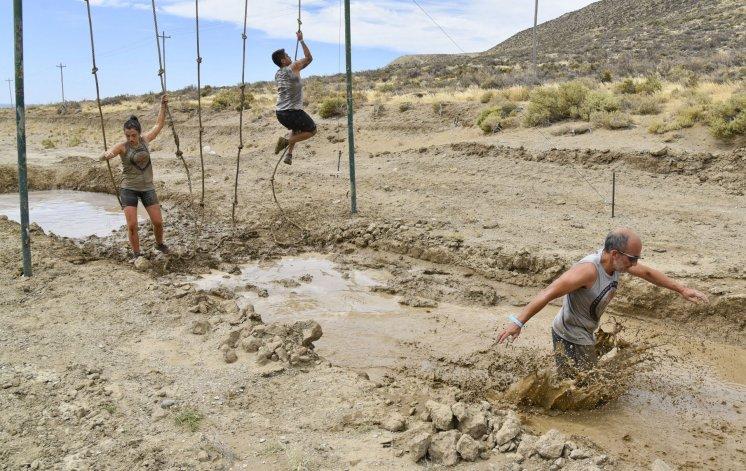 Exigentes obstáculos tuvo la prueba en Rada Tilly.