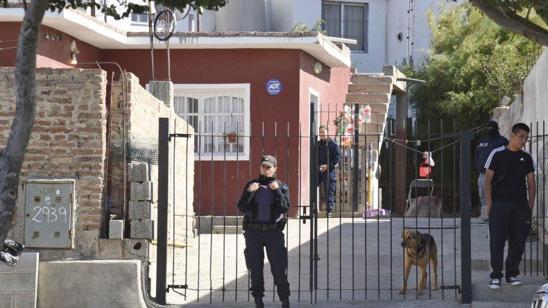 Diego Aguirre fue detenido por la policía en un allanamiento que se realizó en un domicilio de avenida Juan XXIII 2.939.