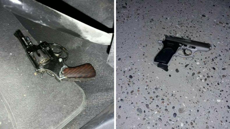 Detuvieron a dos hombres armados en el Máximo Abásolo