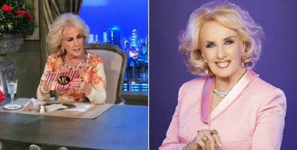 Mirtha Legrand se quejó del Photoshop en su cara: mirá la diferencia