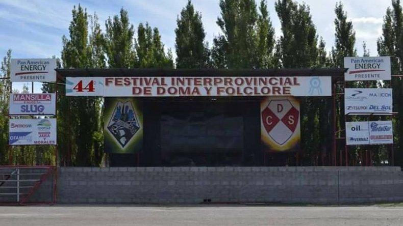 Asesinaron a un joven en el Festival de Doma y Folclore de Sarmiento
