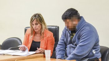 El imputado negó haber participado del homicidio. Dijo que estaba enfermo y hasta lloró.