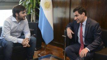 El director ejecutivo del PAMI Chubut, Ignacio Torres, se reunió el viernes con el titular del organismo, Carlos Regazzoni.