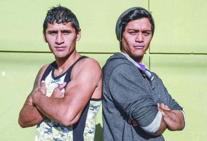 César Gato Antín y Carlos Santana