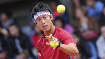 El japonés Kei Nishikori es el tenista de mayor jerarquía en la actualidad en el cuadro principal del Argentina Open.