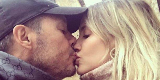 Guillermina Valdés y Marcelo Tinelli, enamorados en su viaje a Roma