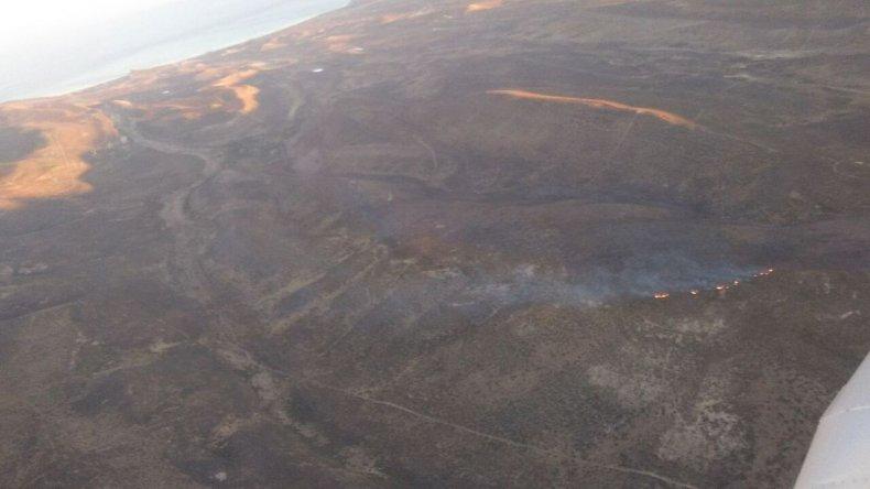 Sofocaron un incendio que se había desatado hace cuatro días en La Herradura