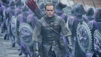 La Gran Muralla, del director chino Zhang Yimou, tiene como protagonista a Matt Damon.