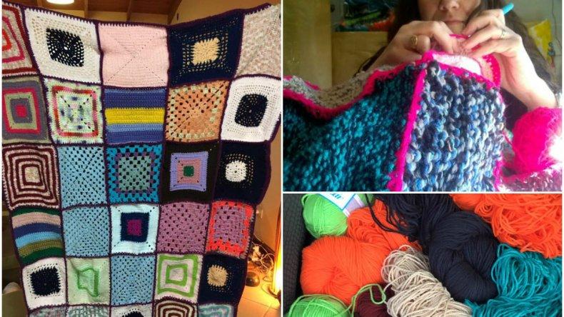Comienza una nueva campaña para tejer mantas
