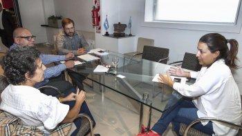 La subsecretaria de Modernización, María Victoria Das Neves, reclamó en Buenos Aires por el mal servicio de Telefónica.