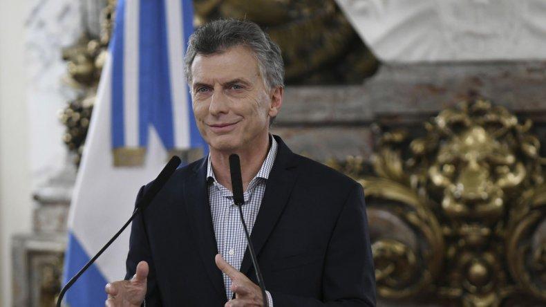 Macri intentó justificar en conferencia de prensa sus últimas medidas.