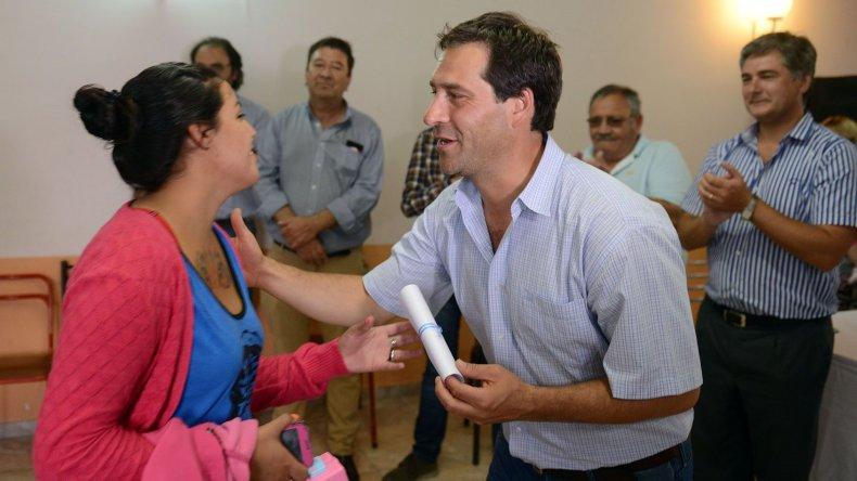 El viceintendente Juan Pablo Luque