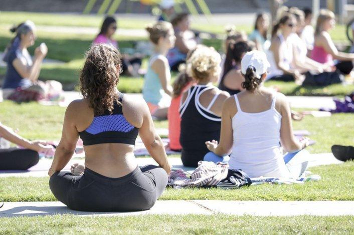 Yoga en Rada Tilly: la clase de mañana será en plaza San Martín