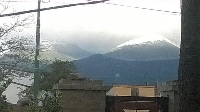 Nevó en Trevelin