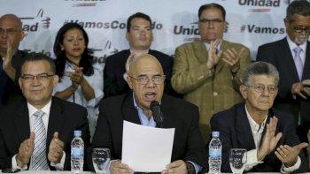 La Mesa de Unidad Democrática se rearma para enfrentar a Maduro.