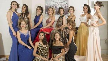 Doce jóvenes participarán esta noche de la elección de la reina de Comodoro Rivadavia.