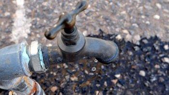 ocho barrios de zona sur sin agua