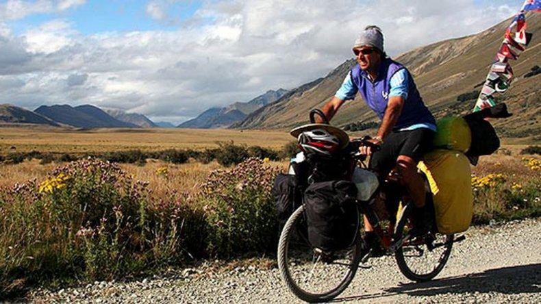 Quince años por el mundo en bicicleta