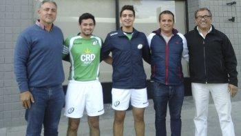 Dirigentes de la URA y árbitros visitaron El Patagónico.