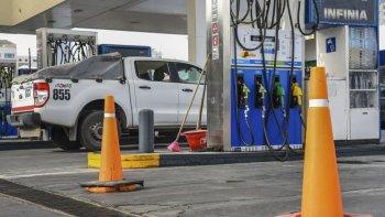 las estaciones de servicio hoy se quedan sin combustible