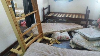 detienen a argentinos por destrozos en una posada en brasil