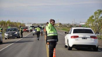La Agencia Provincial de Seguridad Vial realizó controles en cinco localidades y detuvo a cerca de 580 conductores durante el fin de semana.