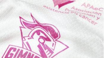 La camiseta inédita de Gimnasia tiene un fin solidario.