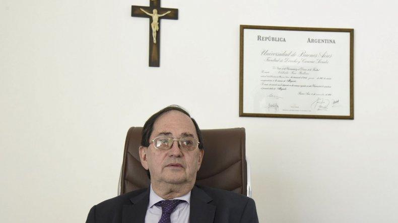 El fiscal Norberto Bellver salió al cruce de la declaraciones de la juez Eva Parcio, sobre quien dijo que la causa pintaba muy linda por eso ella reasumió la investigación.