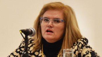 La concejal Norma Contreras.