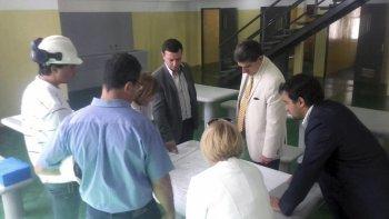 El subsecretario de Protección Ciudadana, Pablo García, y el juez de Ejecución Penal de Comodoro Rivadavia, Jorge Odorisio, recorrieron los nuevos módulos.
