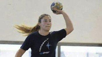 La jugadora de Huergo, Valeria Hernández, concentró con la preselección argentina Junior en la ciudad de Córdoba.