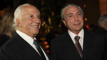 José Yunes y Michel Temer.
