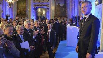 Macri participó de un debate organizado por el diario El País, en España.