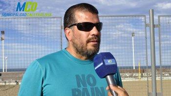Daniel Barros es uno de los instructores a cargo de la actividad.