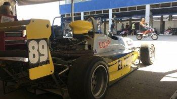 El monoposto de Renzo Blotta llevará el número 89 en sus laterales.