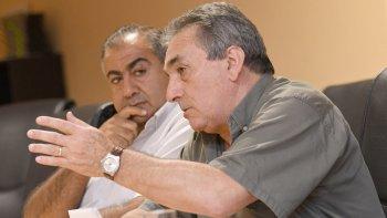 Juan Carlos Schmid y Héctor Daer.