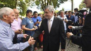 Das Neves participó de actividades en Esquel y ratificó su política anti minera.