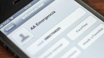 la importancia de agendar contacto de emergencia en celulares