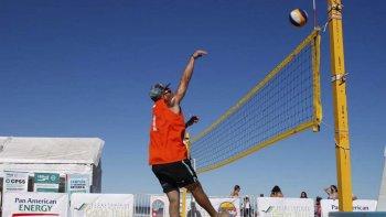 La 4ª fecha del Circuito Nacional del Beach Vóley jugó su primera jornada en Rada Tilly.