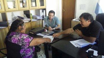 El Gobierno entregó 292 mil pesos a la comunidad mapuche de Lago Rosario y Sierra Colorada.