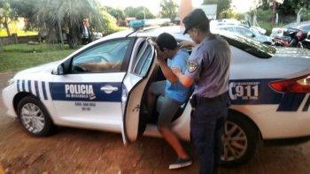 detienen a prefecto por intento de robo