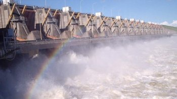 la construccion de las represas hidroelectricas comenzaran este ano